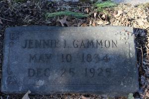 Jennie Gammon (1834-1925)