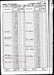 Dr. Lyman B. McCrary 1860 Slave Schedule